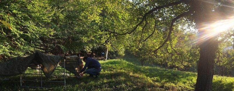 Vorbereitung der Weide in Malchen 1