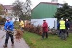 Vorbereitung NABU-Obstbaumaktion 08
