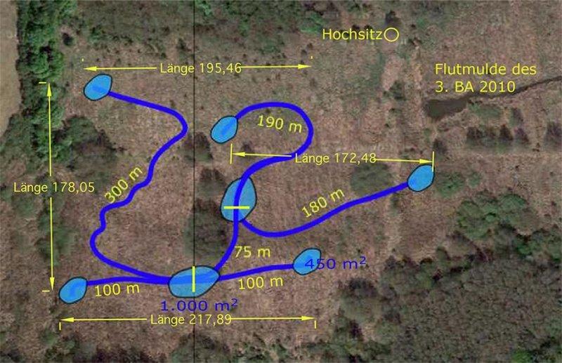Karte Pfungstädter Moorrinnen - 4.BA