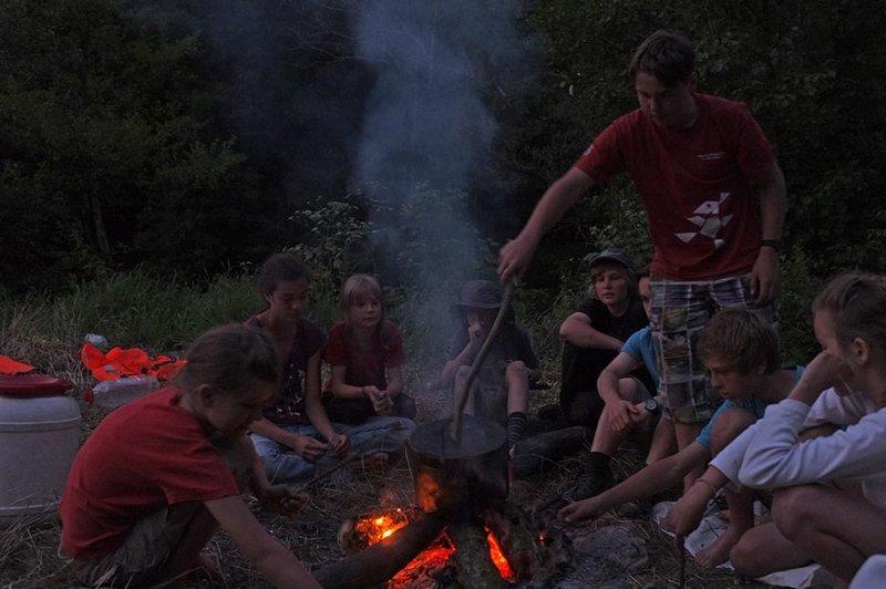 Lagerfeuer am Dreiecksfelsen 03