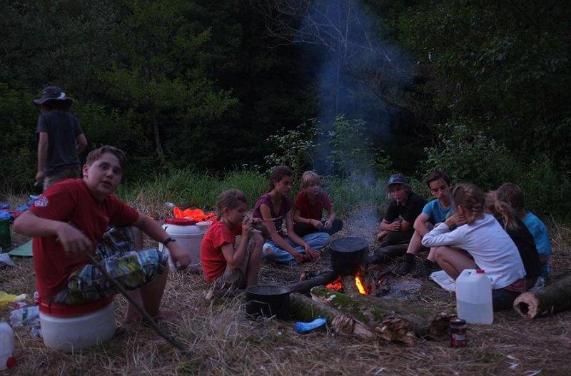 Lagerfeuer am Dreiecksfelsen 06
