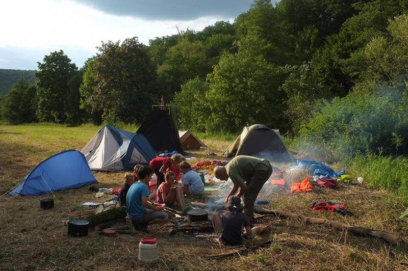 Lager am Dreiecksfelsen 07