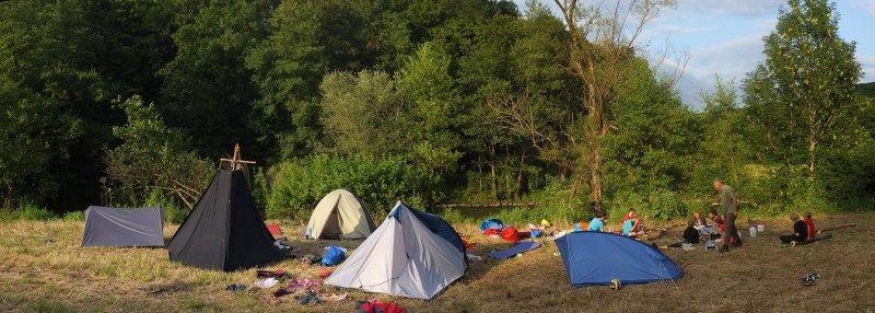 Lager am Dreiecksfelsen 12