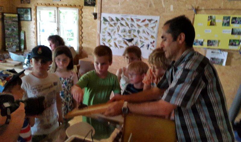 Honigfest im Lernort Natur - Honigschleuder 4