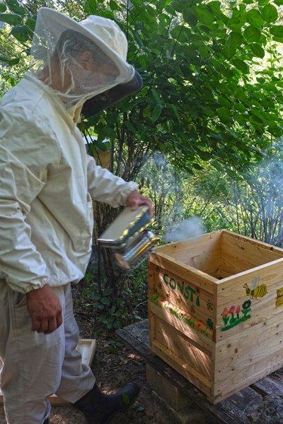 Bienen-Fütterung 2
