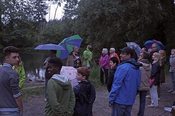 Fledermausnacht am Waldweiher 2