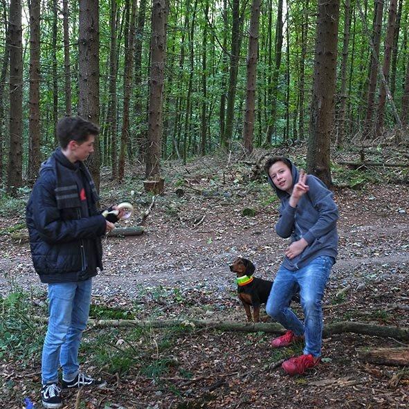 Waldeinsatz Weisstannenschutz - Lovis 2