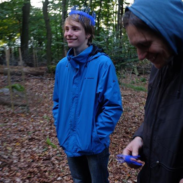 Waldeinsatz Weisstannenschutz - Tobias