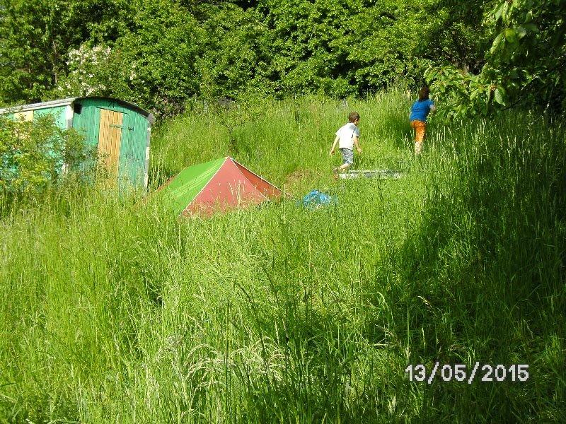 02 Camping in Eckis Garten