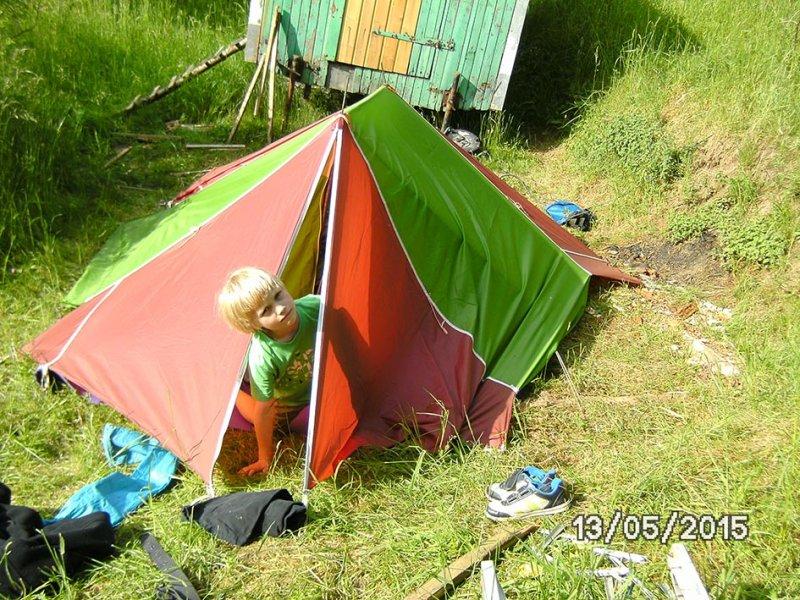 03 Camping in Eckis Garten