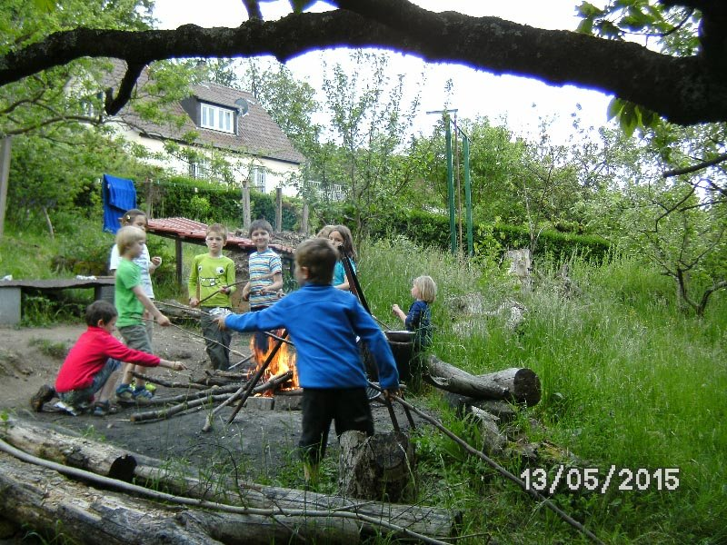 06 Camping in Eckis Garten