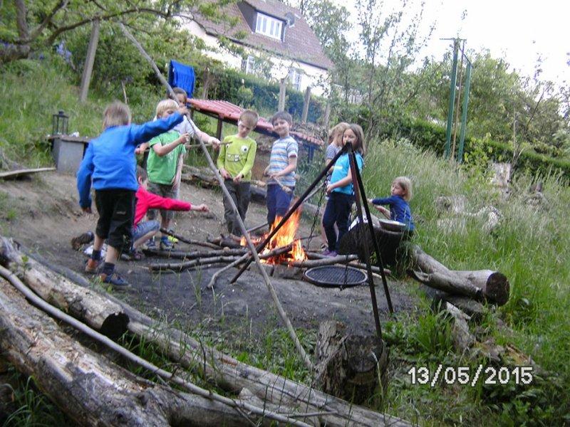 07 Camping in Eckis Garten