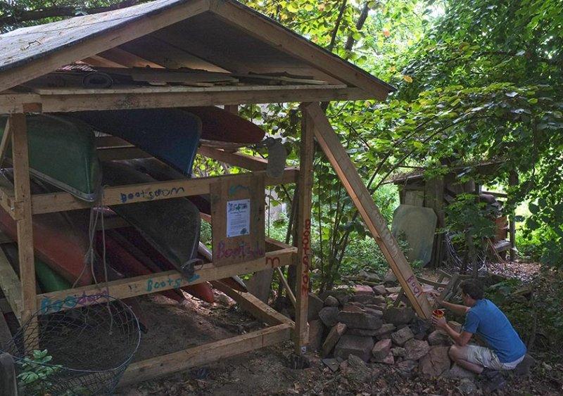 Eckis Garten - Bootshaus 7