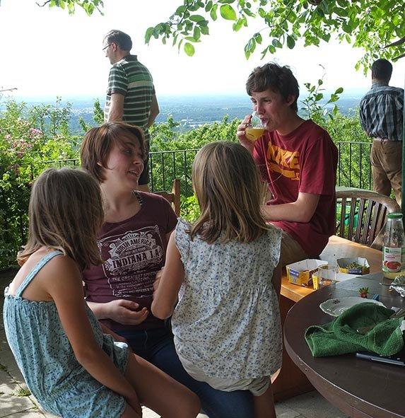 Eckis Garten - Kuchentafel 3