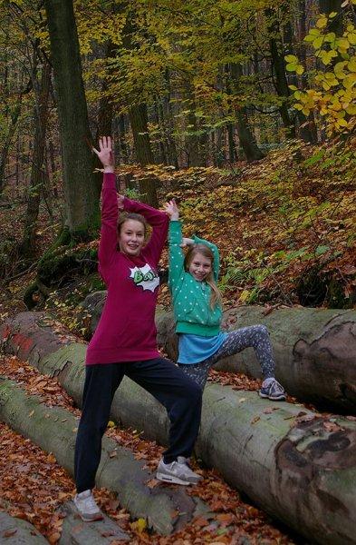 Sternwanderung - Gymnastik im Wald 10