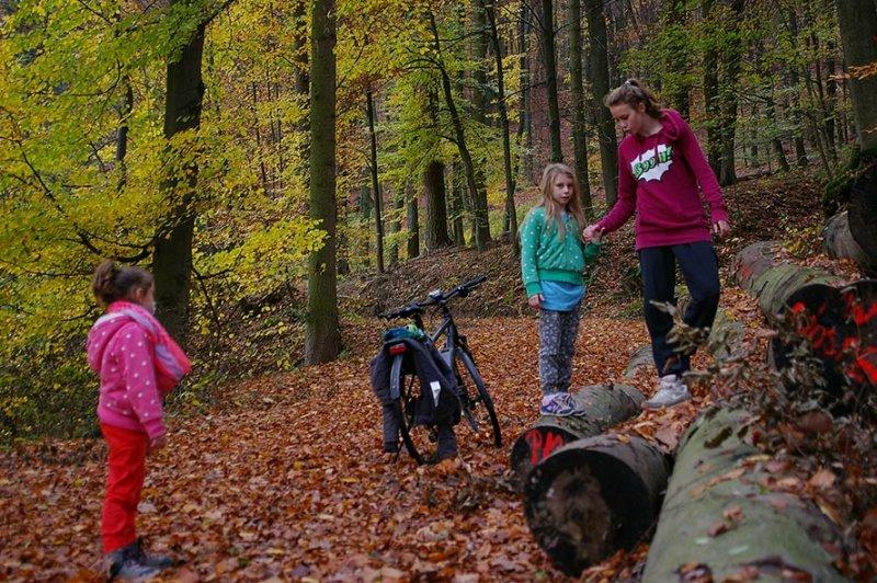 Sternwanderung - Gymnastik im Wald 04