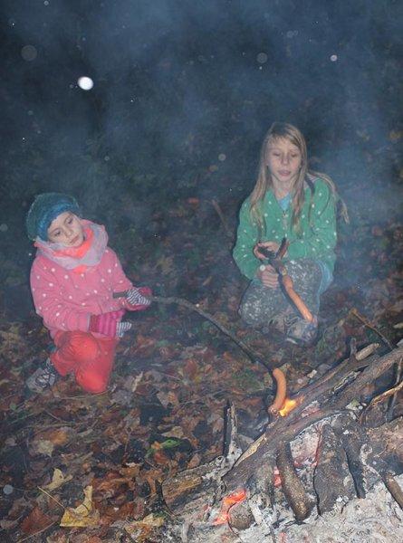 Sternwanderung - Lagerfeuer am Wühlmaushotel mit Ecki 3
