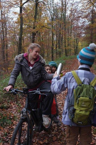Sternwanderung - Radtour - Teepause mit Anna Carlotta Dodo und Jan 1