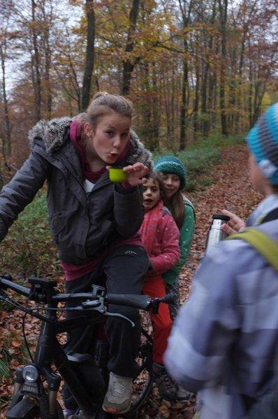 Sternwanderung - Radtour - Teepause mit Anna Carlotta Dodo und Jan 2