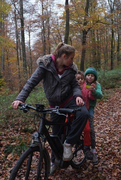 Sternwanderung - Radtour - Teepause mit Anna Carlotta Dodo und Jan 3