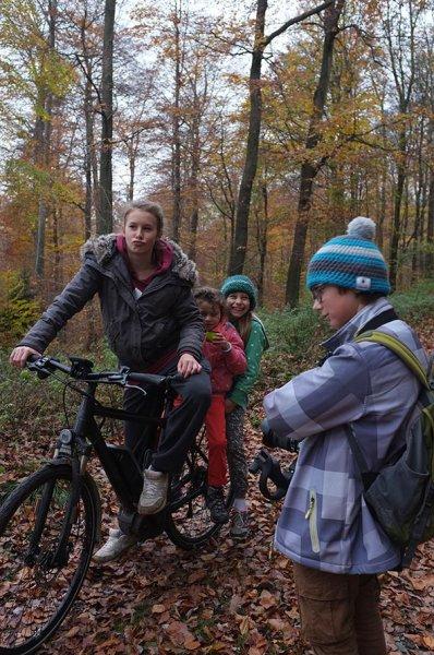 Sternwanderung - Radtour - Teepause mit Anna Carlotta Dodo und Jan 4