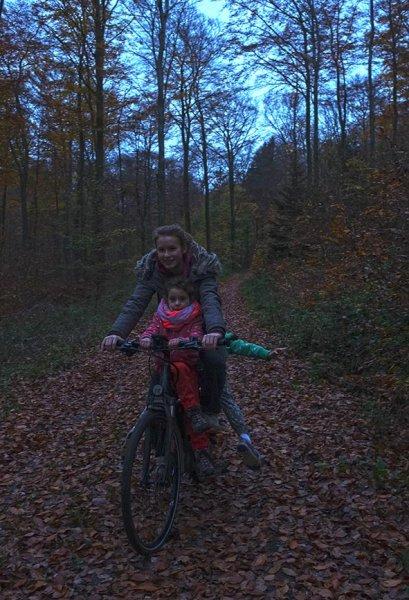 Sternwanderung - Radtour in der Dämmerung mit Anna Carlotta und Dodo 1