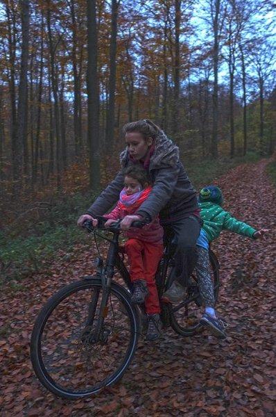 Sternwanderung - Radtour in der Dämmerung mit Anna Carlotta und Dodo 2