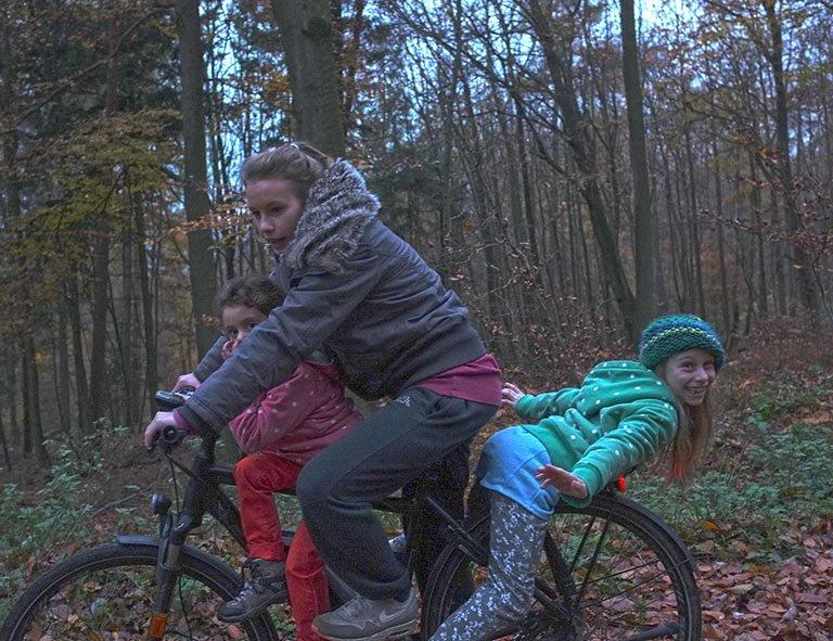 Sternwanderung - Radtour in der Dämmerung mit Anna Carlotta und Dodo 5