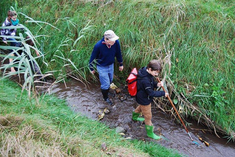 Wasserwandern Beerbach Helga 08