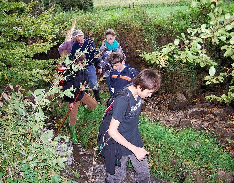 Wasserwandern Beerbach Helga 14