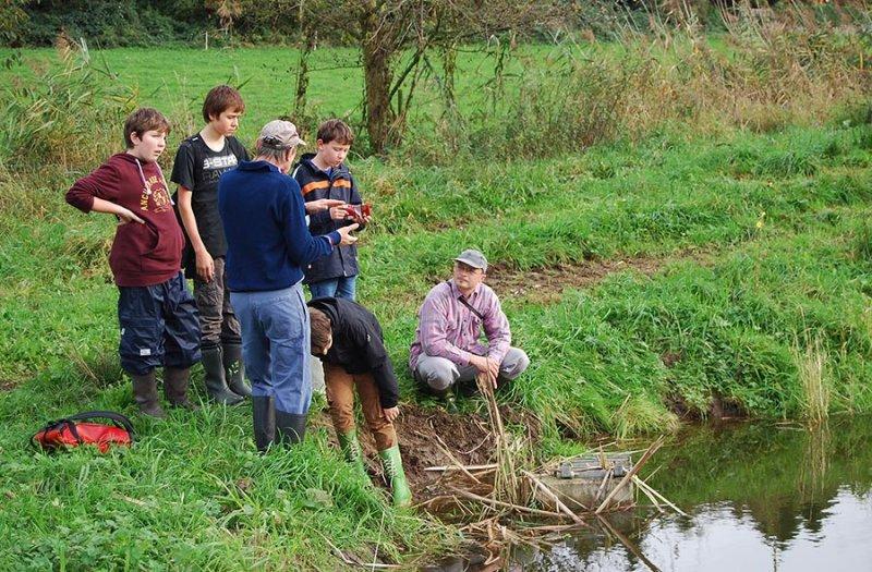 Wasserwandern Beerbach Helga 02 Auweiher