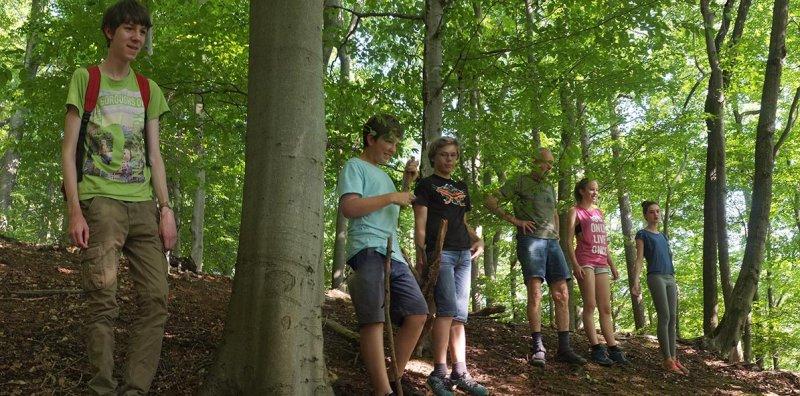 NAJUs im Wald - Gruppenbild 2
