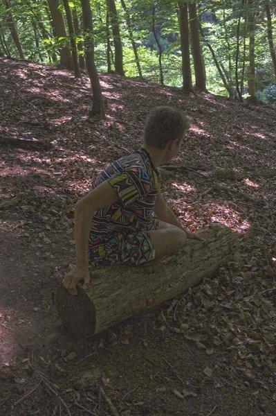 NAJUs im Wald - Rutschpartie 4