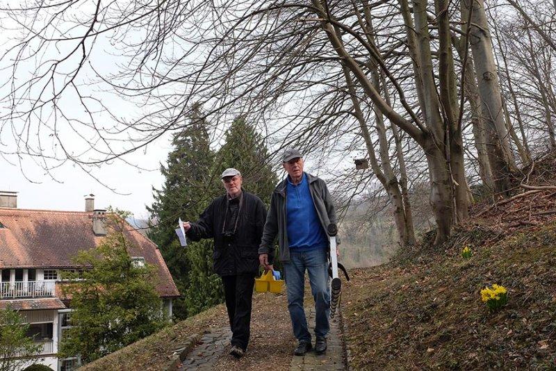 Nistkastenkontrolle Park Stangenberg 3