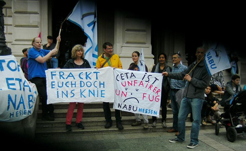 Anti-CETA Frankfurt 1