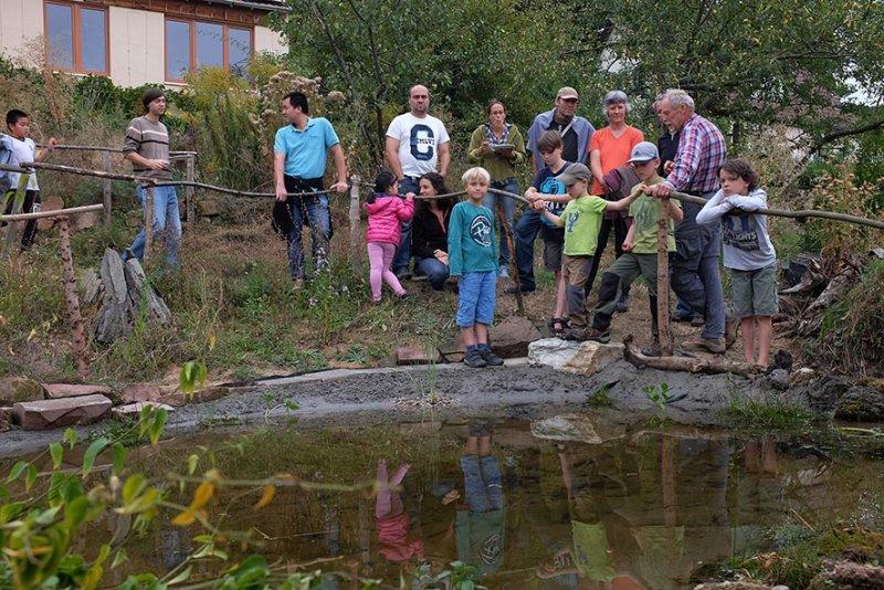 Erntefest - Einweihung Amphibienteich 05