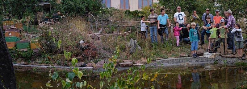 Erntefest - Einweihung Amphibienteich 06