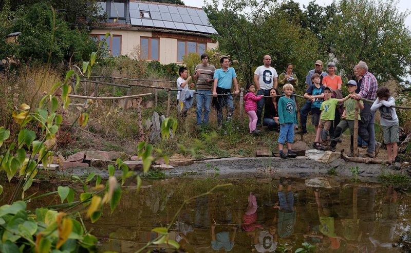 Erntefest - Einweihung Amphibienteich 07