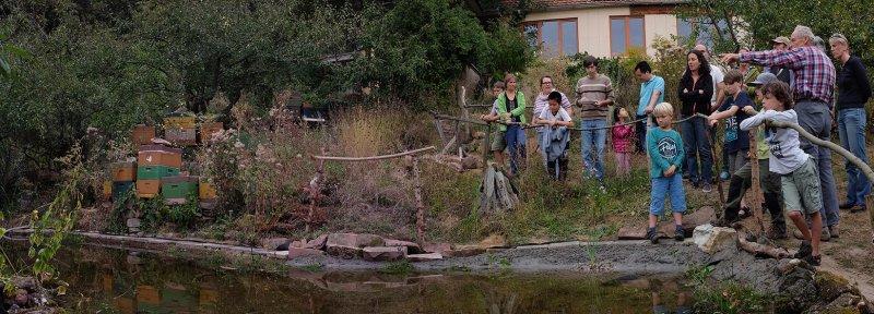 Erntefest - Einweihung Amphibienteich 09