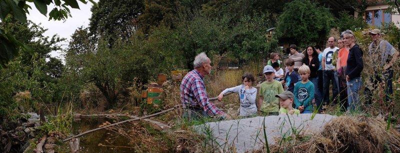Erntefest - Einweihung Amphibienteich 11