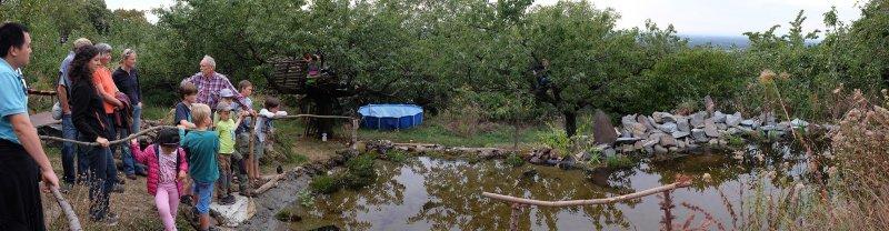 Erntefest - Einweihung Amphibienteich 02