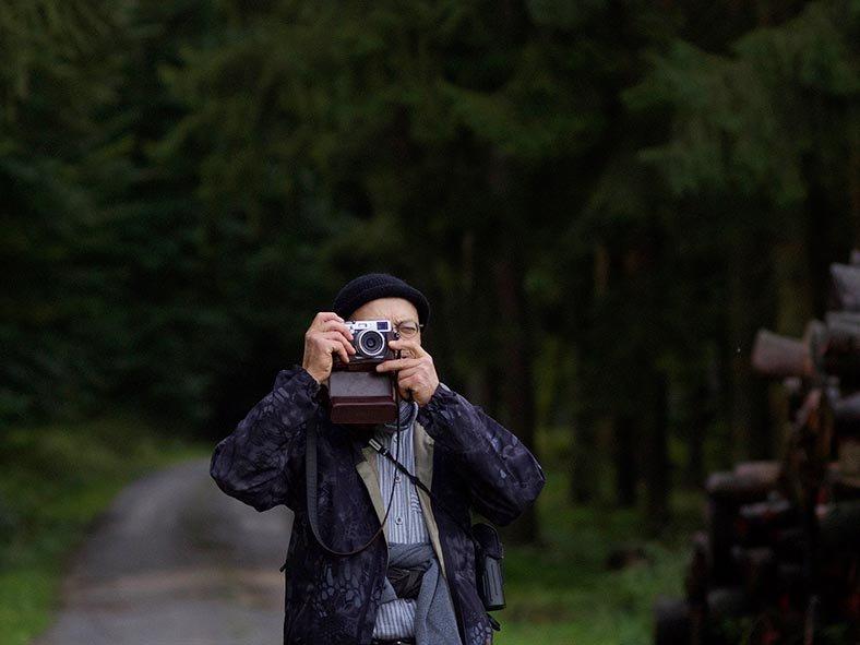 Pirschgang am Morgen - Portrait Tino - Jan Zeissler