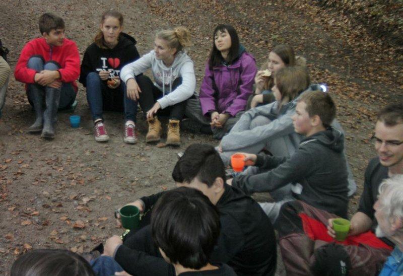 Pflanzaktion der NAJU im Alsbacher Wald 18