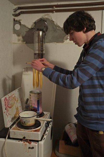 05 Kerzen ziehen mit Dennis