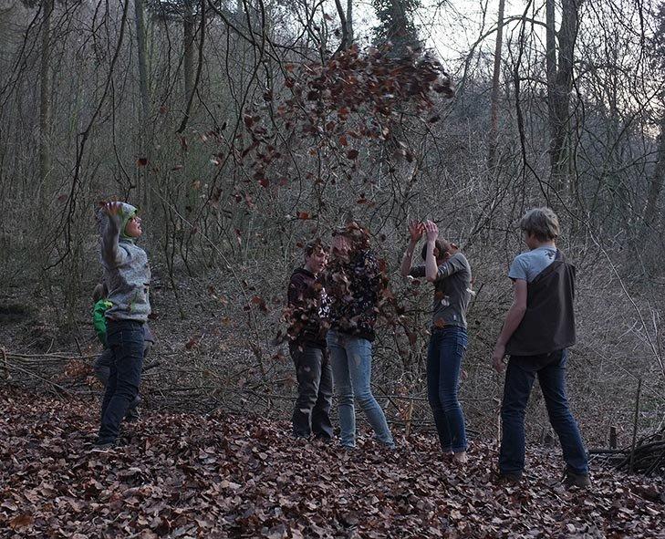 Laubschlacht am Wühlmausweiher 09