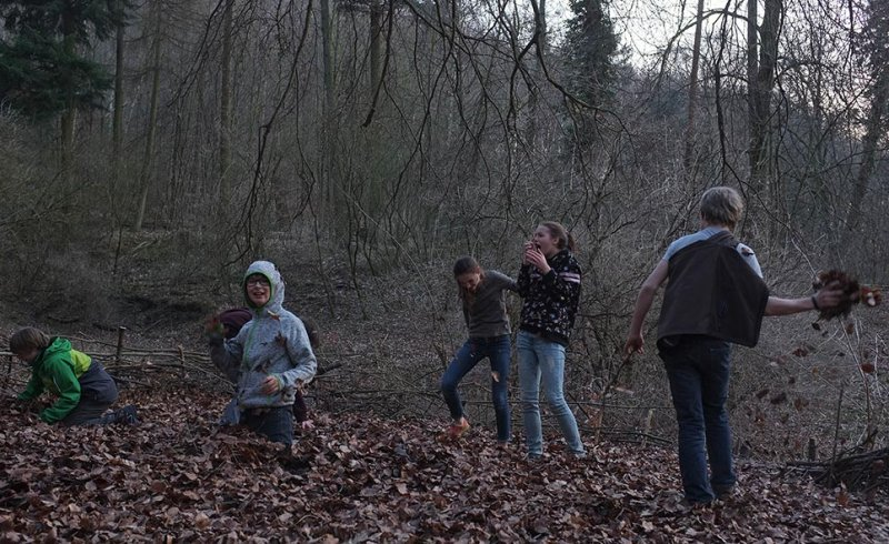 Laubschlacht am Wühlmausweiher 05