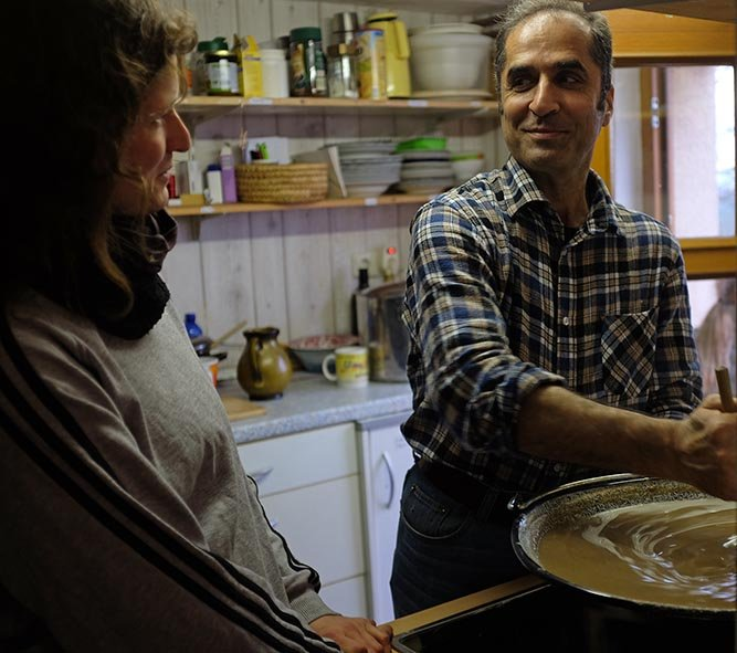 Mahmoud kocht Samanu