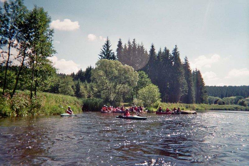 Auf dem Fluss 0a 10x15