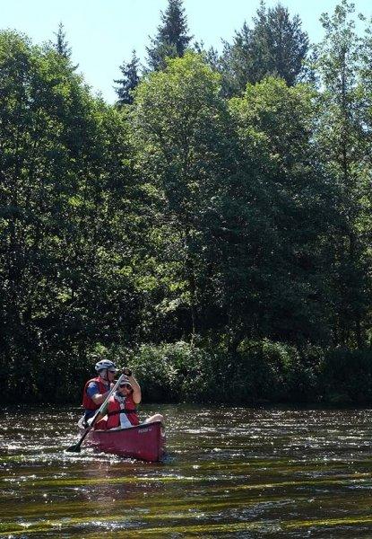 Auf dem Fluss 5 10x14
