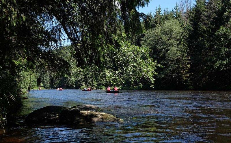 Auf dem Fluss 7 10x16